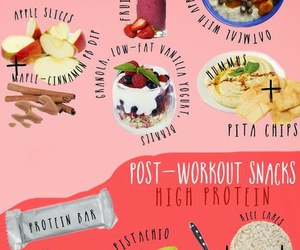 fitness, food, and workout image