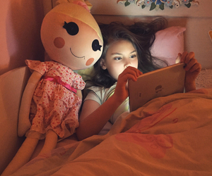 bella, doll, and girl image