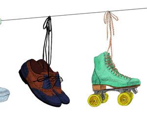 illustration, shoes, and maori sakai image