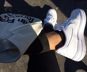 tumblr, white, and shoes image
