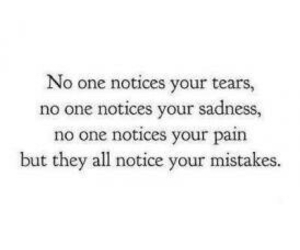 mistakes, quote, and pain image