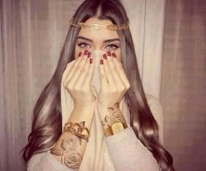 eyes, hair, and nails image