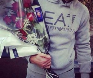 flowers, boy, and live image