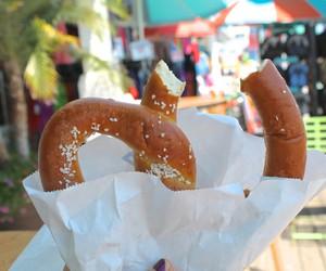 food, tumblr, and pretzel image
