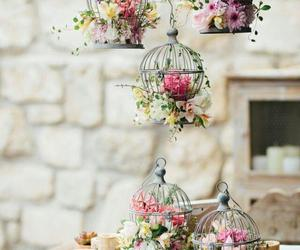flowers, vintage, and decoration image