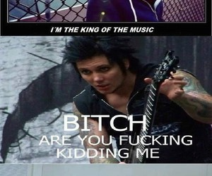 avenged sevenfold, funny, and music image