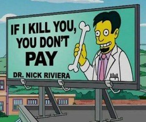 funny, simpsons, and doctor image
