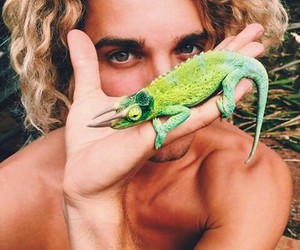 boy, jay alvarrez, and animal image