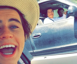 nash grier and snapchat image