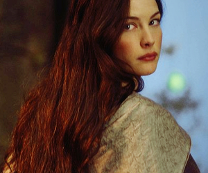 arwen, lord of the rings, and LOTR image