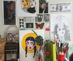 art, tumblr, and indie image