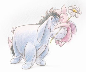 eeyore, piglet, and disney image