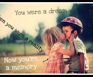 boy and girl, Dream, and memory image