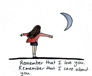 quote, I Love You, and remember image