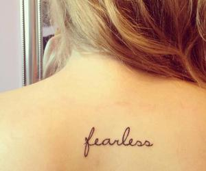 fearless and Tattoos image