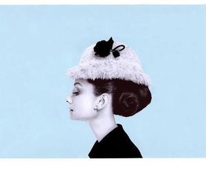 audrey hepburn and profile image