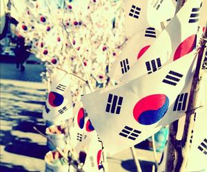 korea, flag, and south korea image