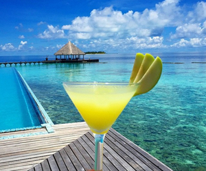summer, cocktail, and drink image