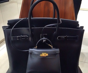bags, black, and style image