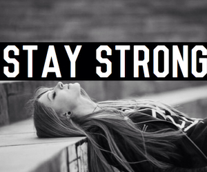 angel, black, and stay strong image