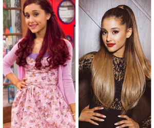 before and after and ariana grande image