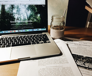 book, college, and homework image