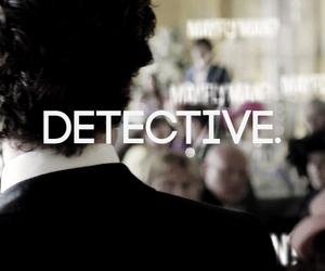benedict, detective, and holmes image