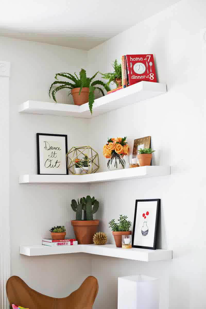 cool, floating, and shelves image
