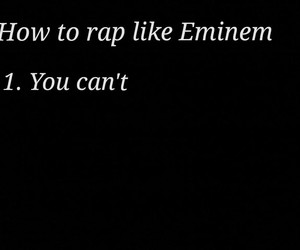 eminem, go, and rap image