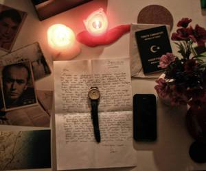article, flover, and candle image