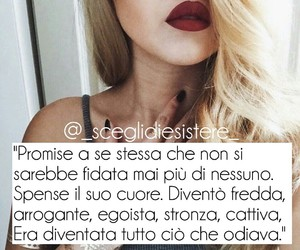 amore, sceglidiesistere, and frase image