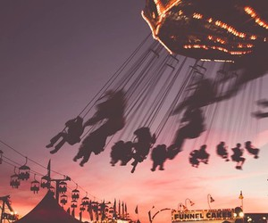 fun, sunset, and summer image
