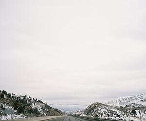 snow and mountains image