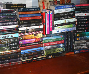 books, teen, and young adult image