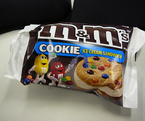 cookie, m&m's, and food image