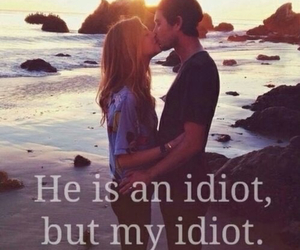 couples, idiot, and kiss image