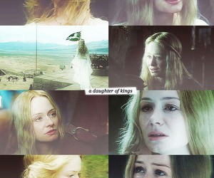 beautiful, eowyn, and middle earth image