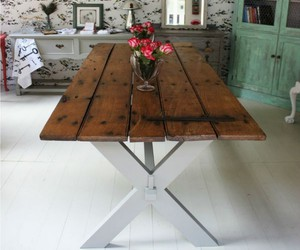 recycled crafts, pallets decor ideas, and recycled wood pallets image