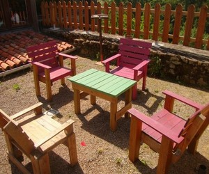 recycled crafts, recycled wood pallets, and recycled pallet crafts image