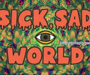 90's, sick sad world, and Daria image