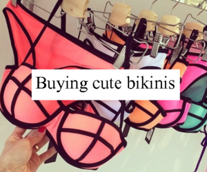<3, colors, and bathing suit image