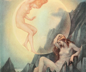 art, vintage, and evelyn de morgan image