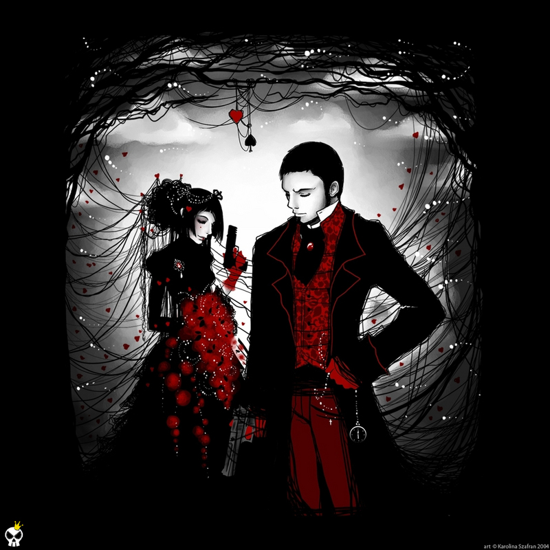 Gothic Love Couple Romance Picture And Photo