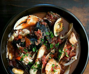 italian, seafood, and soup image