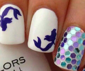 nails, disney, and art image