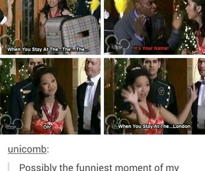 funny, london tipton, and lol image