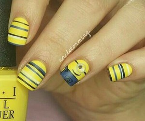 disney, minion, and nails image