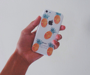 case, pineapple, and iphone image