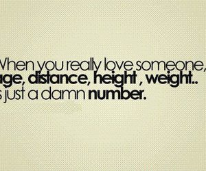love, age, and quotes image
