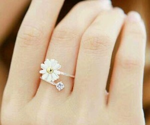 ring, flowers, and accessories image